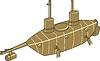 ID 4222875 | Shilder U-Boot | Stock Vektorgrafik | CLIPARTO