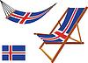 island Hängematte und Liegestuhl-Set