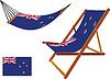 neuseeland Hängematte und Liegestuhl-Set