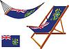 Pitcairn Hängematte und Liegestuhl-Set