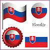 slowakei Grafiksatz