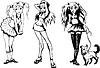 Mädchen Jugendliche