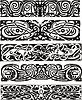 Animalistic Knotenentwürfe im keltischen Stil