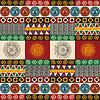 Nahtlose Maya, Azteken-Muster
