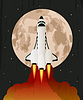 Der Start der Raumfähre