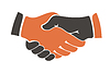 Shaking hands between cultural communities | Stock Vector Graphics