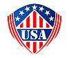 Векторный клипарт: США геральдический символ щит
