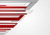 Векторный клипарт: Абстрактный технологии полосы дизайн
