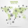 Векторный клипарт: Абстрактные технологии концепция дизайна