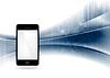 Векторный клипарт: Технология волны абстрактный фон с мобильного
