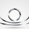 Векторный клипарт: Технология серебро металл форма фон