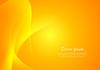 Векторный клипарт: Shuny оранжевый фон волнистые