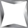 Векторный клипарт: Абстрактный металлический каркас фон