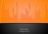 Векторный клипарт: Абстрактные волны корпоративный дизайн