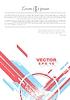 Векторный клипарт: Геометрия гранж технологий Минимальный дизайн