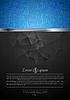 Векторный клипарт: Яркий технологии фон с металлической полосой