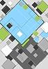 Векторный клипарт: Абстрактный дизайн геометрия с квадратами