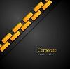 Векторный клипарт: Темный абстрактный корпоративный фон