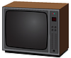 Old TV | Stock Vector Graphics