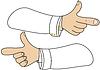 ID 4256276 | Wskaźnik ręki | Klipart wektorowy | KLIPARTO