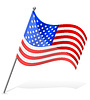 Векторный клипарт: Флаг Соединенные Штаты Америки