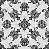nahtlose Muster mit polynesischen Symbole