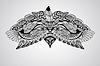 Tattoo Eagle Kopf