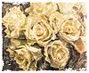 ID 4097117 | Weinlese-Aquarell-Hintergrund mit Rosen gelb | Stock Vektorgrafik | CLIPARTO