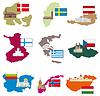 Flaggen und Länder