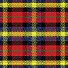 nahtlose Muster schottischen Tartan