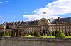 Les Invalides (National Wohnsitz von Invaliden) in | Stock Foto