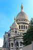 Basilika des Heiligen Herzens Jesu von Paris am Abend | Stock Foto