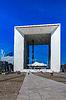 Grande Arche im Geschäftsviertel La Defense, Paris, | Stock Foto