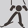 Langlauf-Symbol