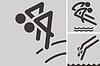 Synchronspringen Symbole