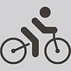 Векторный клипарт: Значок Велоспорт