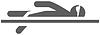 Векторный клипарт: плавание значок