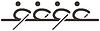 Векторный клипарт: Значок Гребля