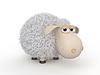 3d lächerlich Schafe | Stock Illustration