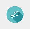 Whistle Flach Symbol