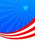 Viertel des Juli-amerikanische Unabhängigkeit