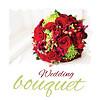 Векторный клипарт: Свадебный букет