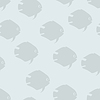 Векторный клипарт: Абстрактный рыбы бесшовного фона