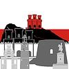 Векторный клипарт: Гибралтар