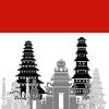 Векторный клипарт: Индонезия