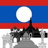 Векторный клипарт: Лаос