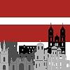 Векторный клипарт: Латвия