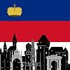 Векторный клипарт: Лихтенштейн