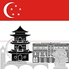 Векторный клипарт: Сингапур