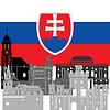 Векторный клипарт: Словакия